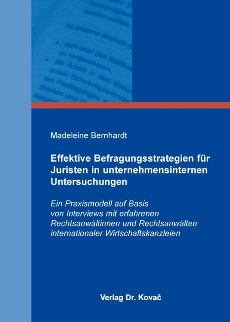 Bernhardt, M. (2015)