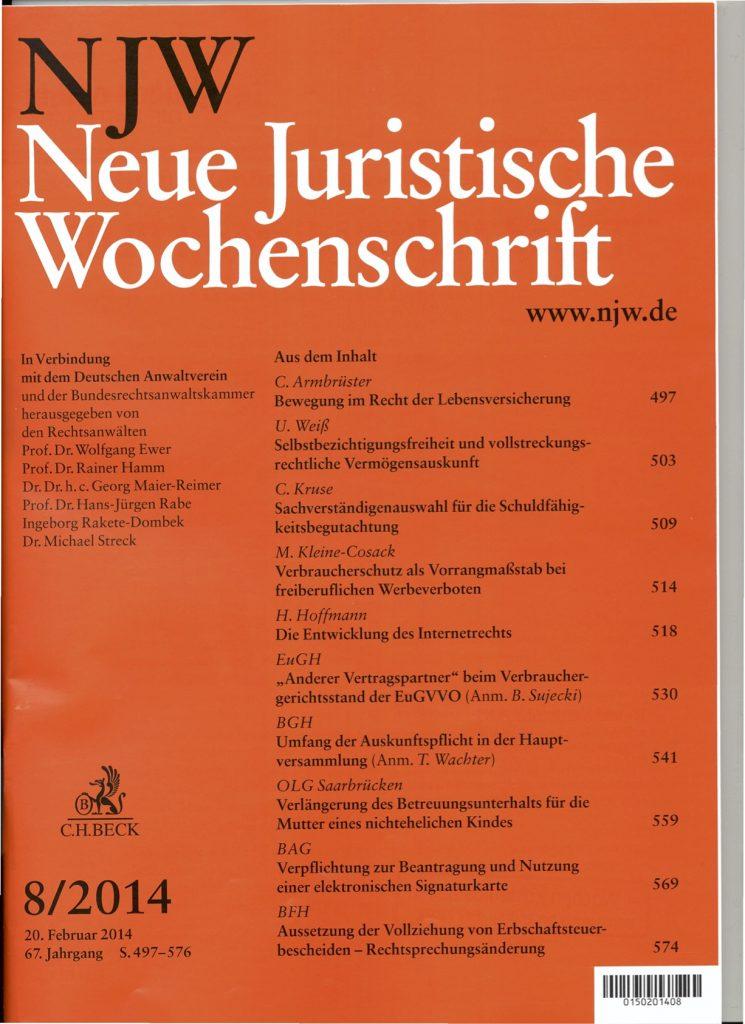 Bernhardt, M. (2014)